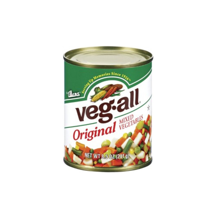 300g canned mixed vegetables