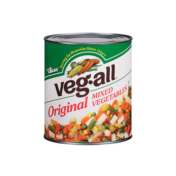 184g canned mixed vegetables factory