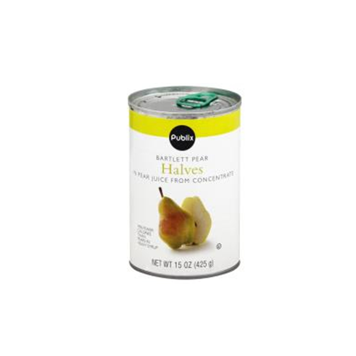 425g canned pear with HACCP