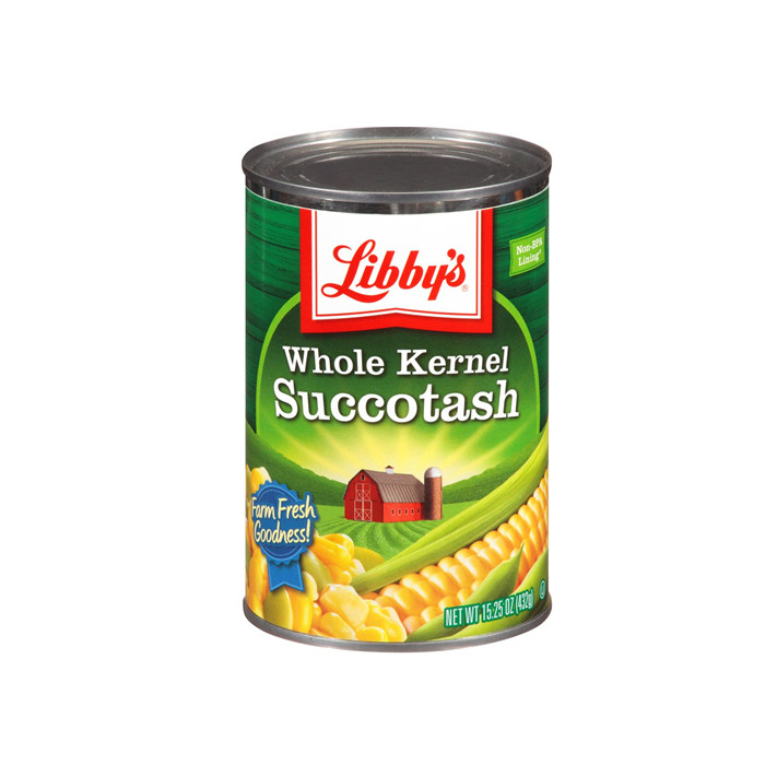 canned kernel corn