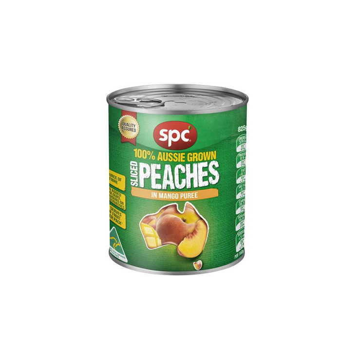 820g sweet canned peach in halves