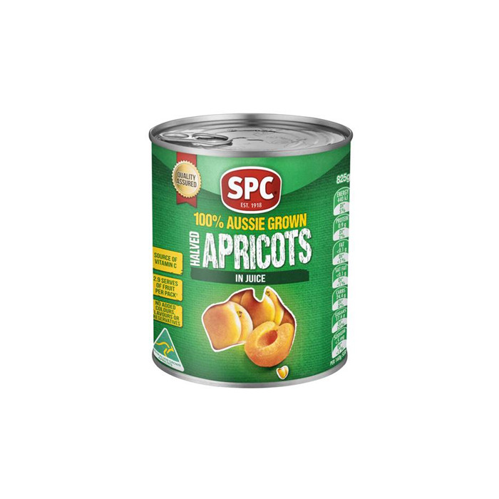 820g canned apricots havles