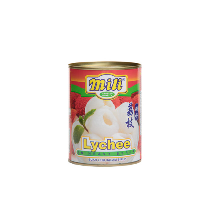 sweet canned lychee