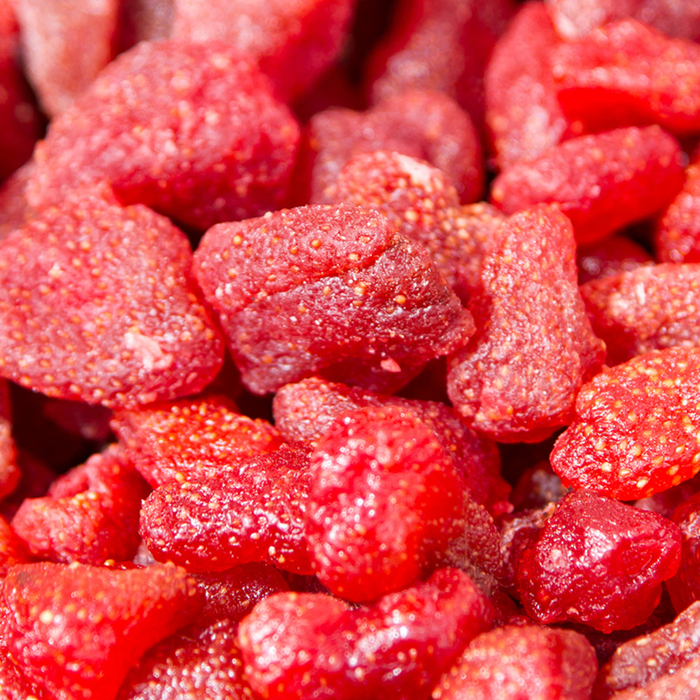 freeze dried strawberry factory