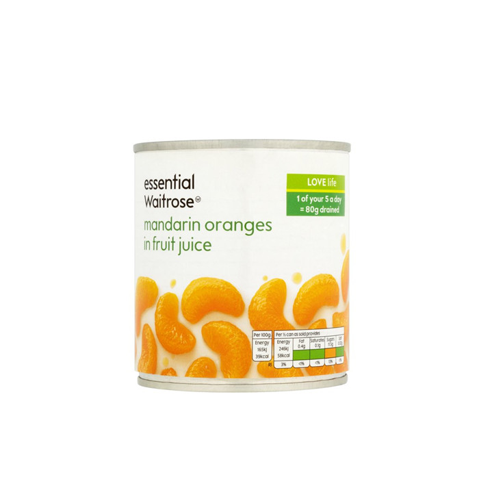 820g stored canned mandarin orange