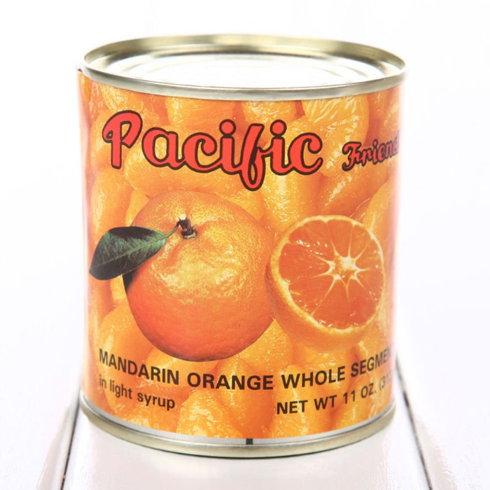 3000g canned orange whole