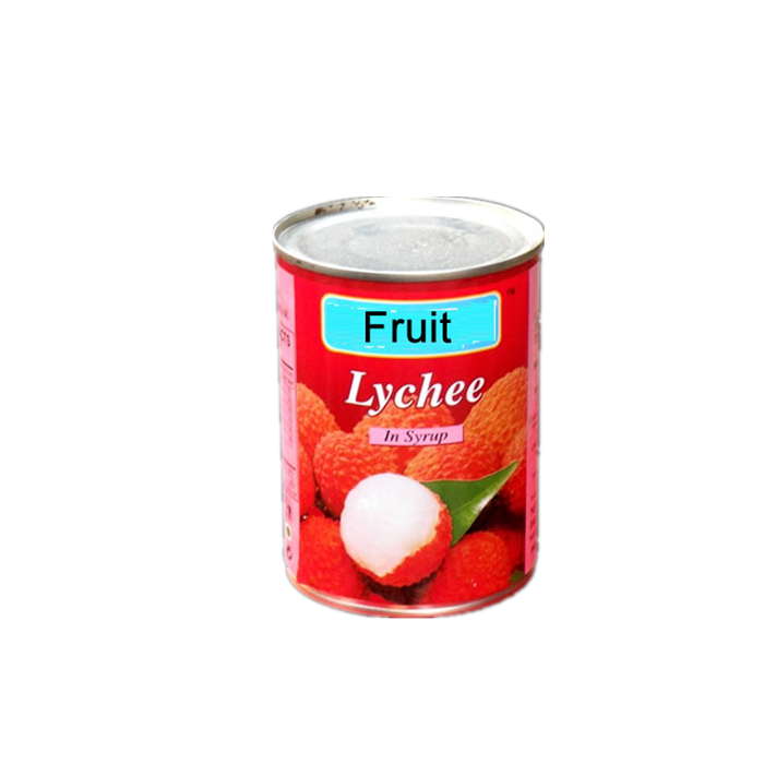 fresh canned lychee in light syrup