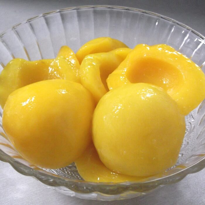 3000g cheap canned yellow peaches halves