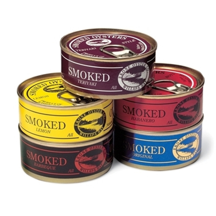 canned smoked oyster manufacturer