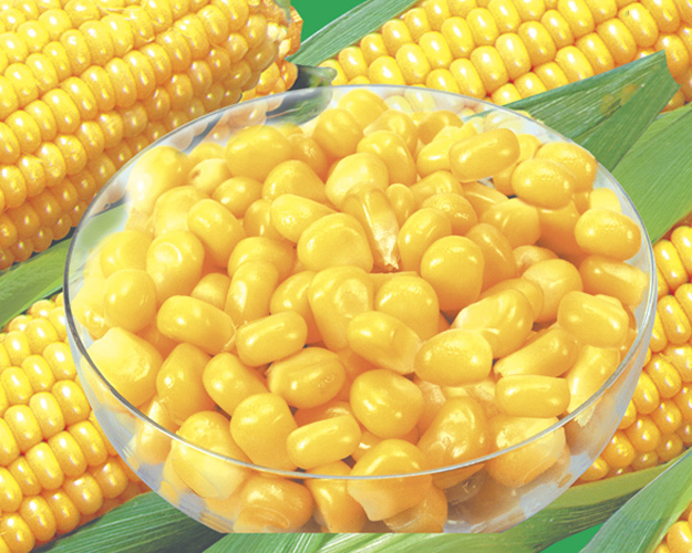 How to eat sweet corn canned corn kernels homemade practice