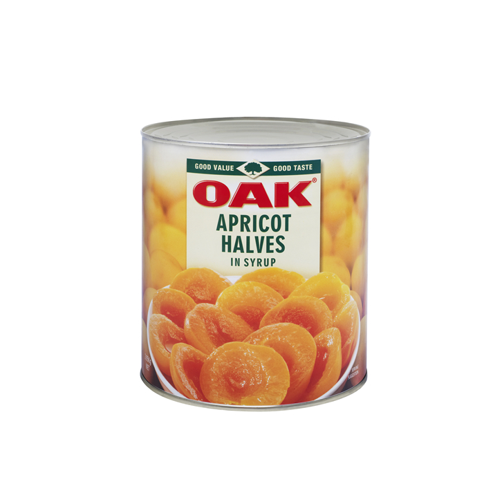 3000g canned apricot in light syrup