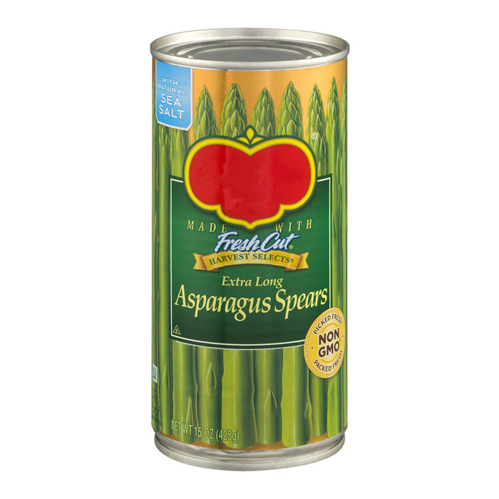425g canned green asparagus