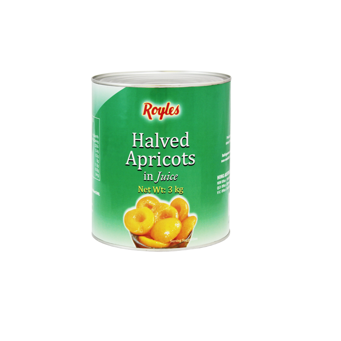 3000g fresh canned apricot on sale