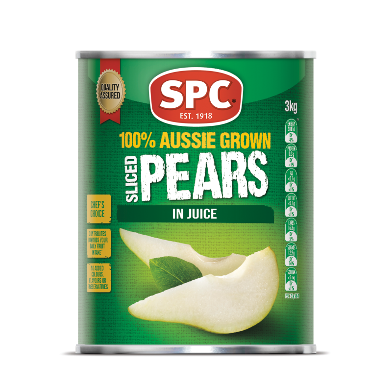 820g canned pear with HACCP
