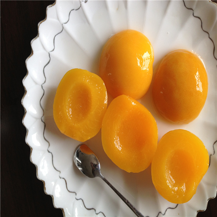 820g cheap canned yellow peaches halves