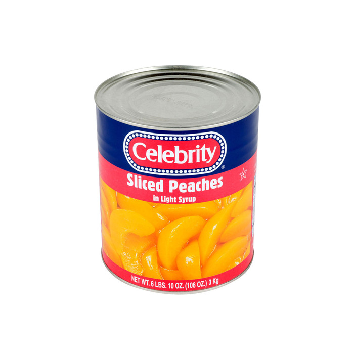 3000g canned peach sliced