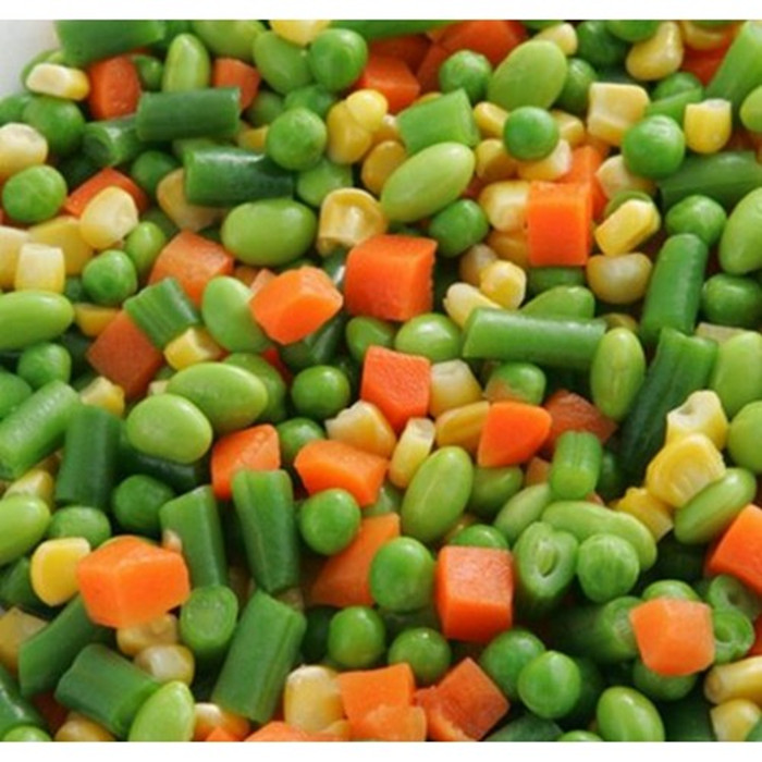 3000g quality Canned Mixed Vegetables
