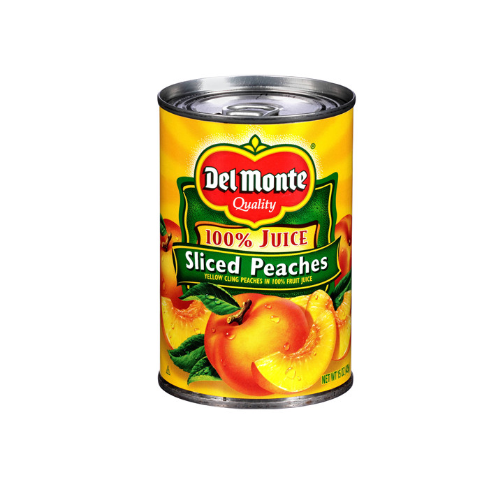 425g canned regular peach