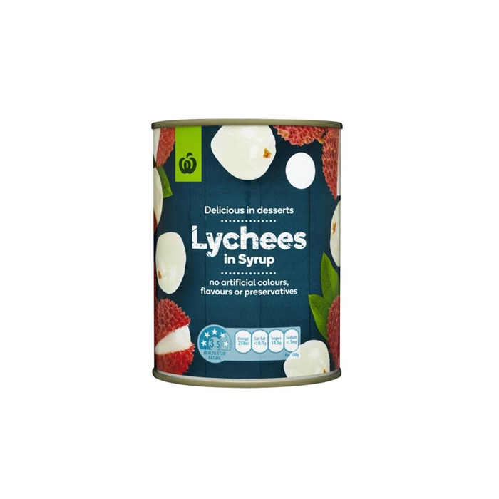 3000g canned lychee