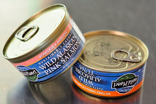 Raw canned food processing