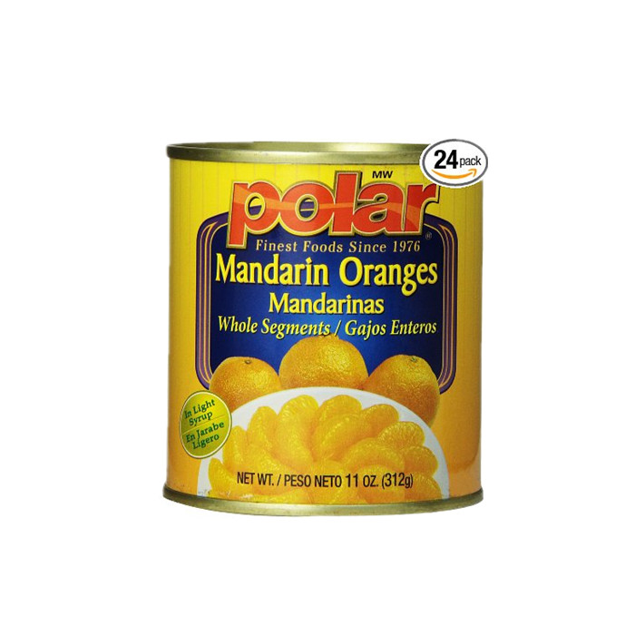 312g canned mandarin orange no sugar
