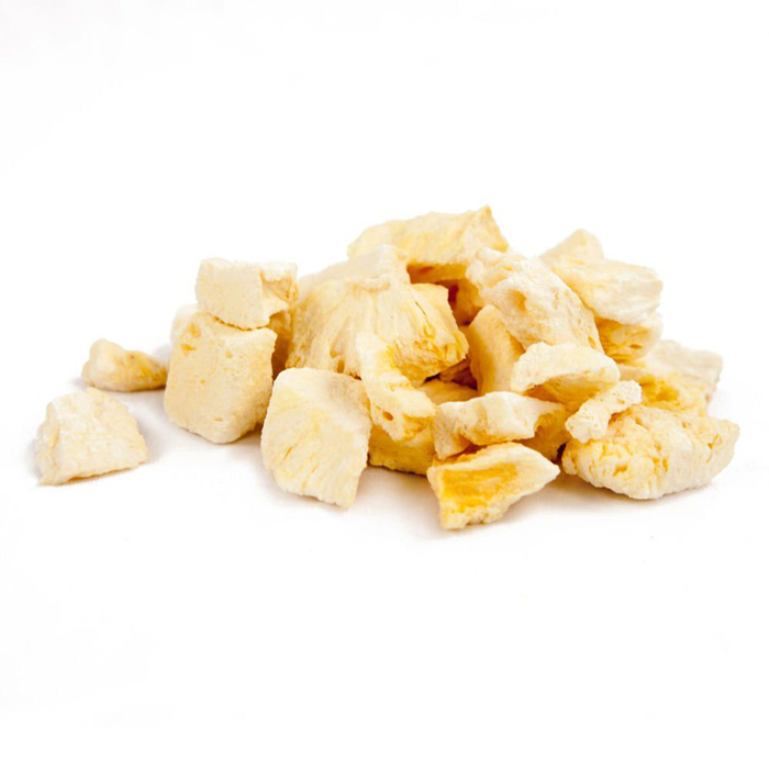 freeze dried pineapple diced