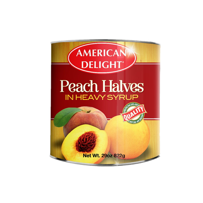3000g sweet canned peach in halves