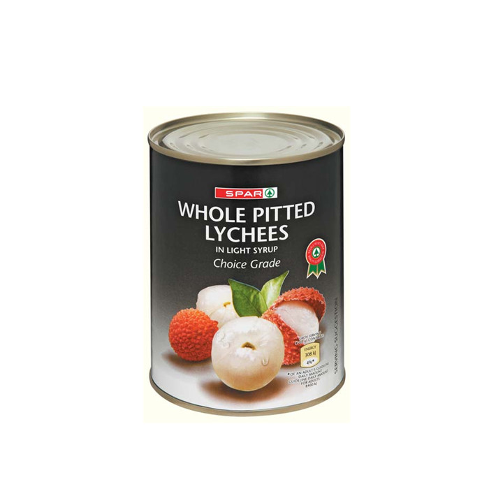 567g fresh canned lychee in light syrup