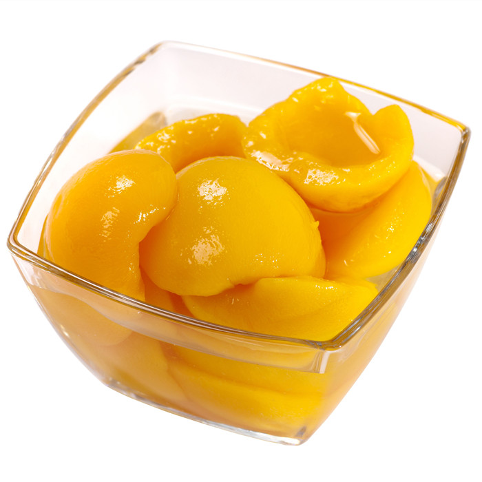 820g canned yellow peach