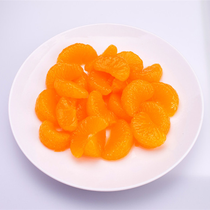 3000g canned mandarin orange in light syrup