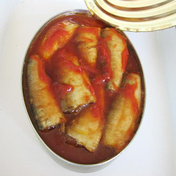 canned mackerel in tomato paste
