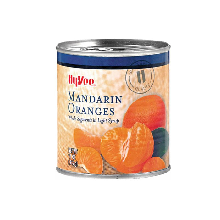 312g canned mandarin orange