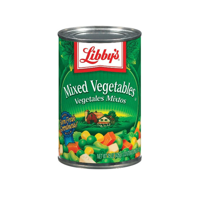 canned mixed vegetables manufacturer