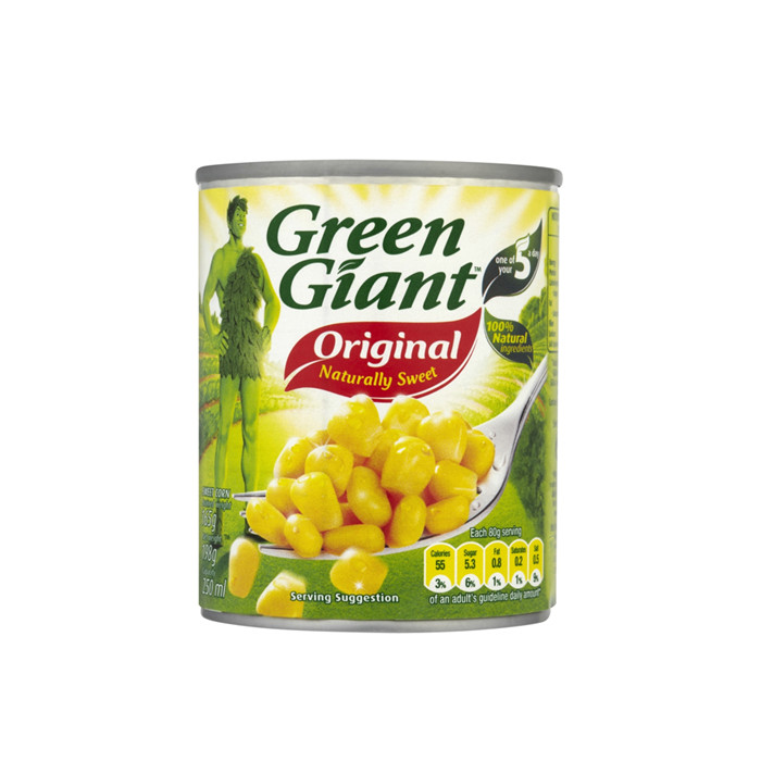 820g canned corn