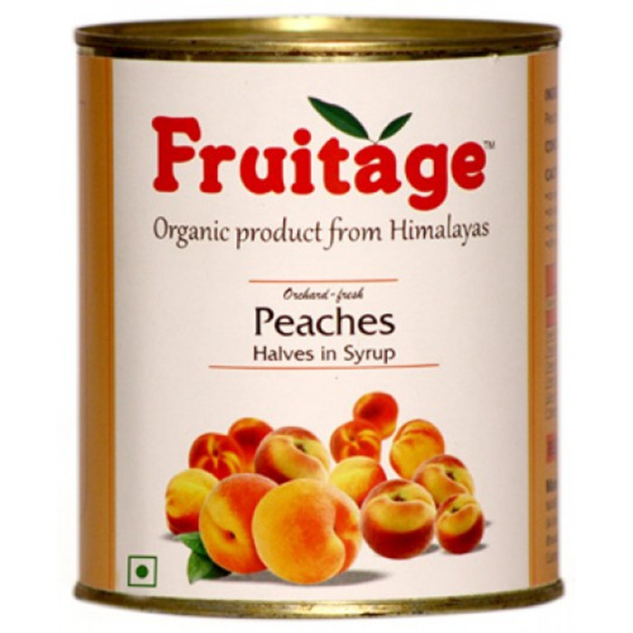 canned peach halves