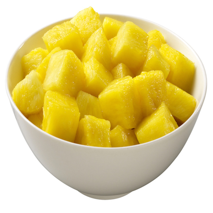 3000g China health canned pineapple chunks