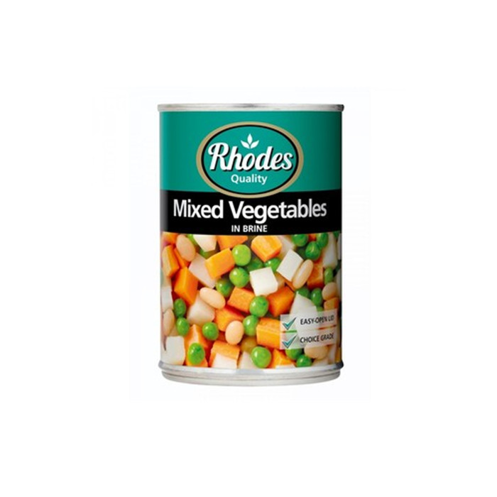 400g quality Canned Mixed Vegetables