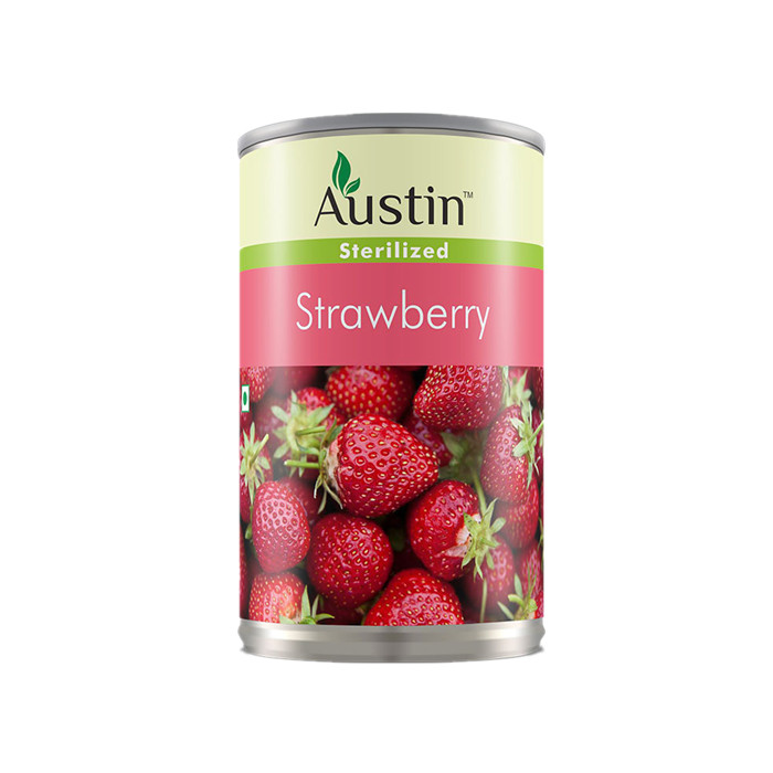 canned strawberry factory