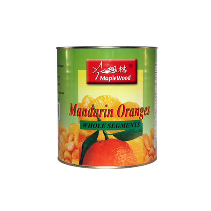 850g canned mandarin orange in light syrup