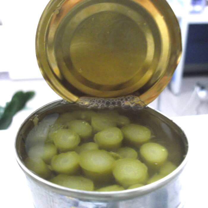 canned green asparagus