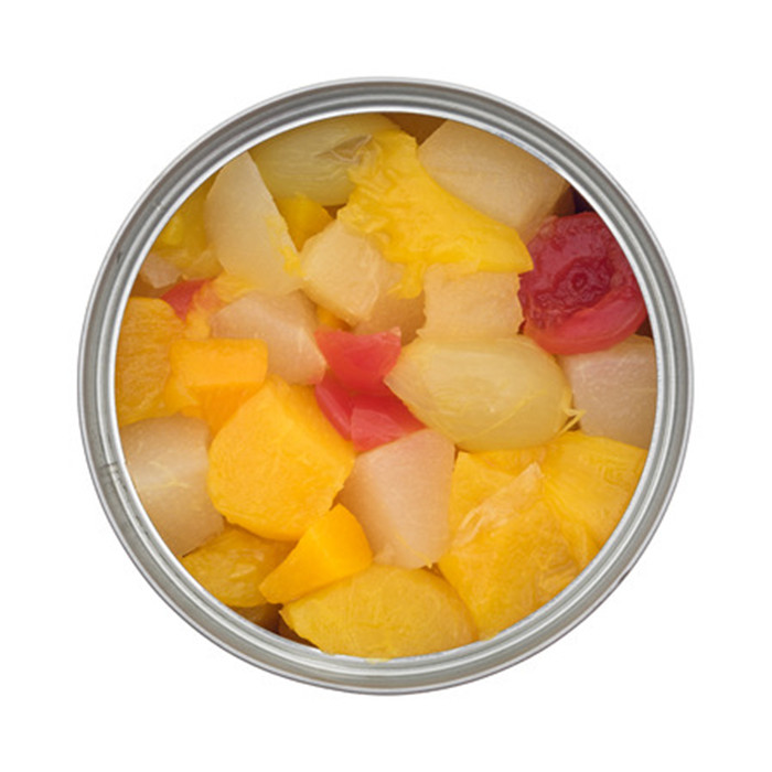 425g canned fruit cocktail in light syrup