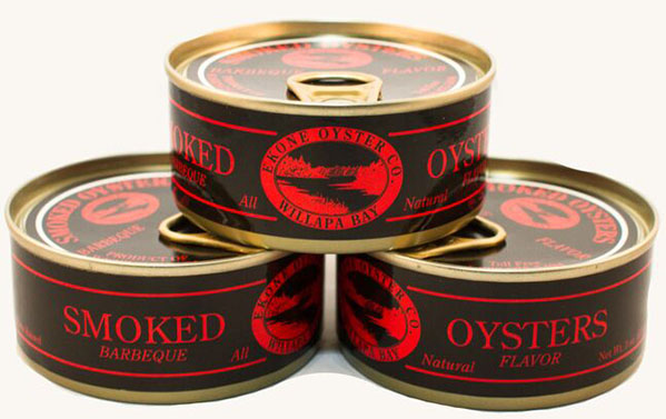 Canned Smoked Oyster