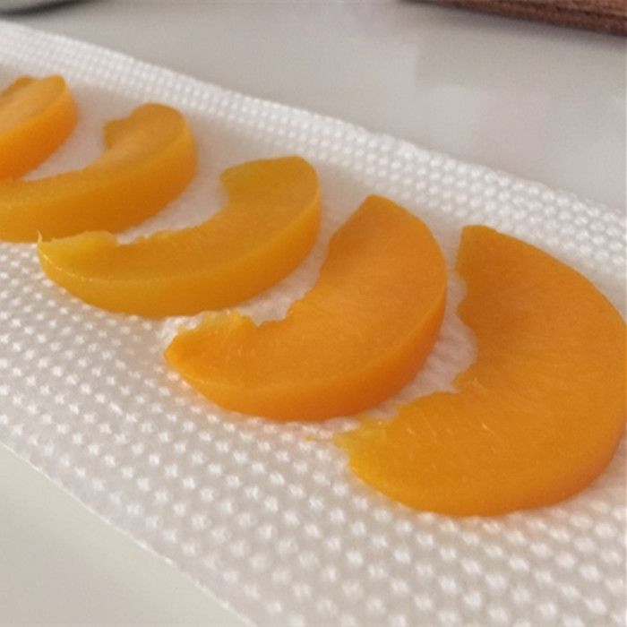 canned cling peach without stone