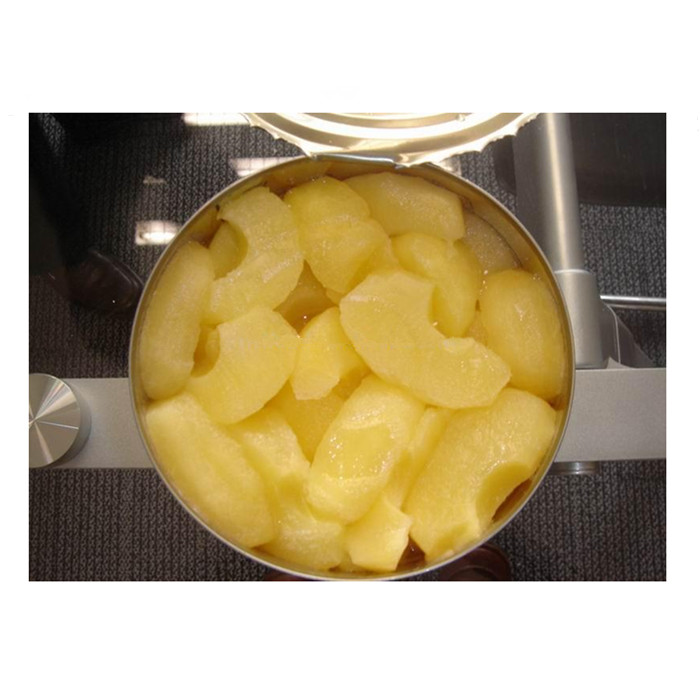 canned apple halves