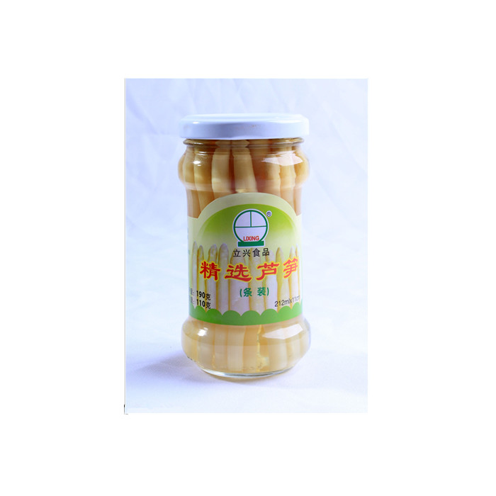 212ml canned white asparagus