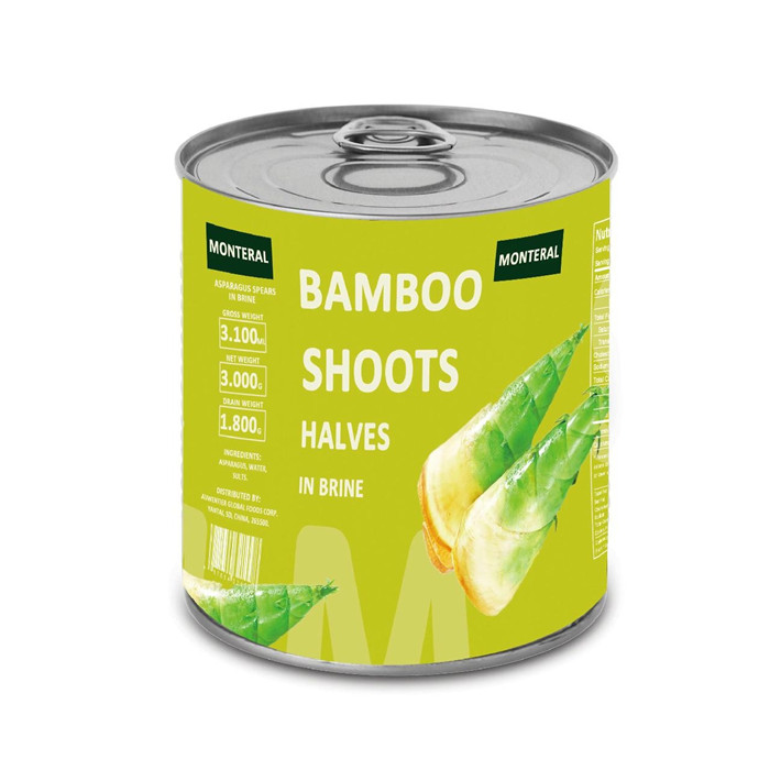 canned bamboo shots factory