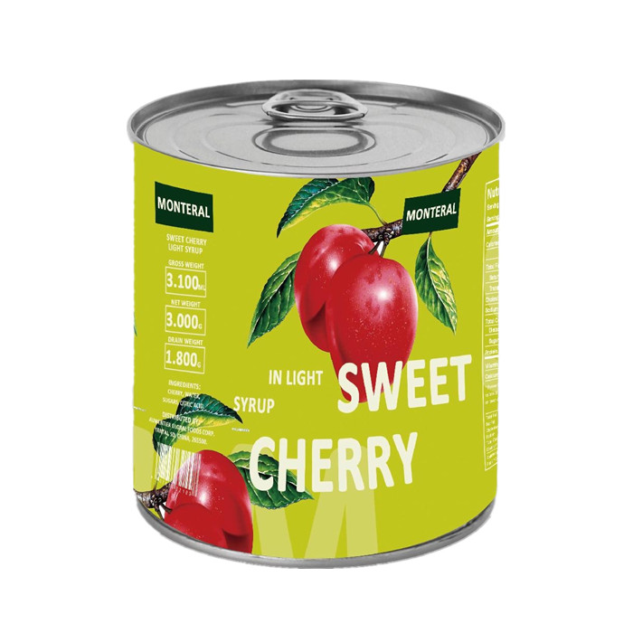 Canned cherry manufacturer
