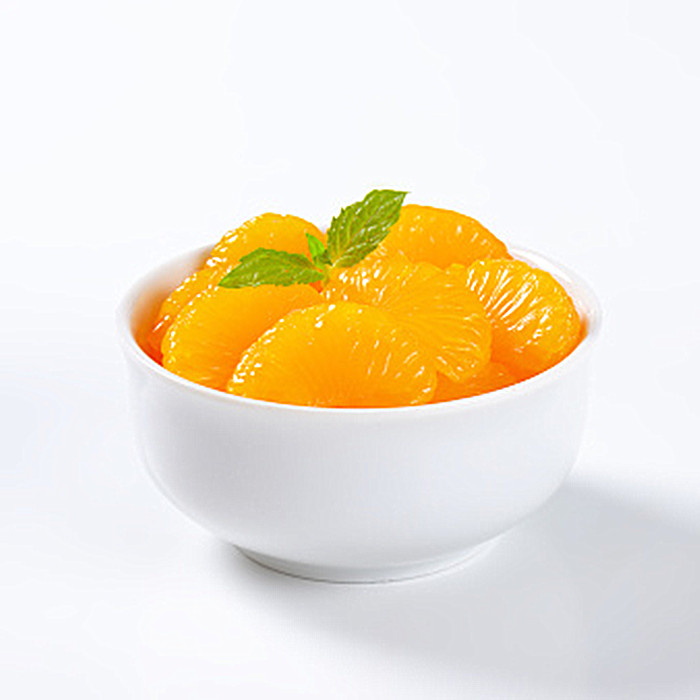 312g canned mandarin orange in light syrup