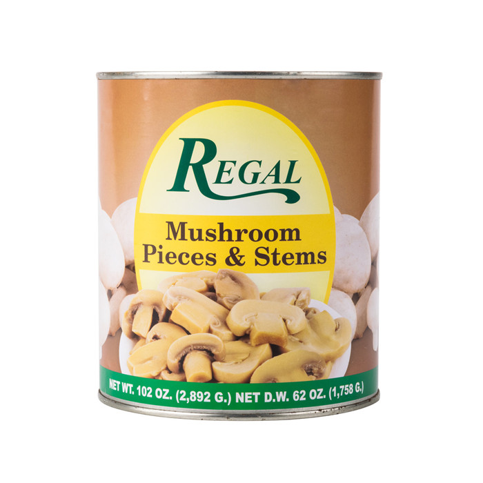 canned mushrooms manufacturer