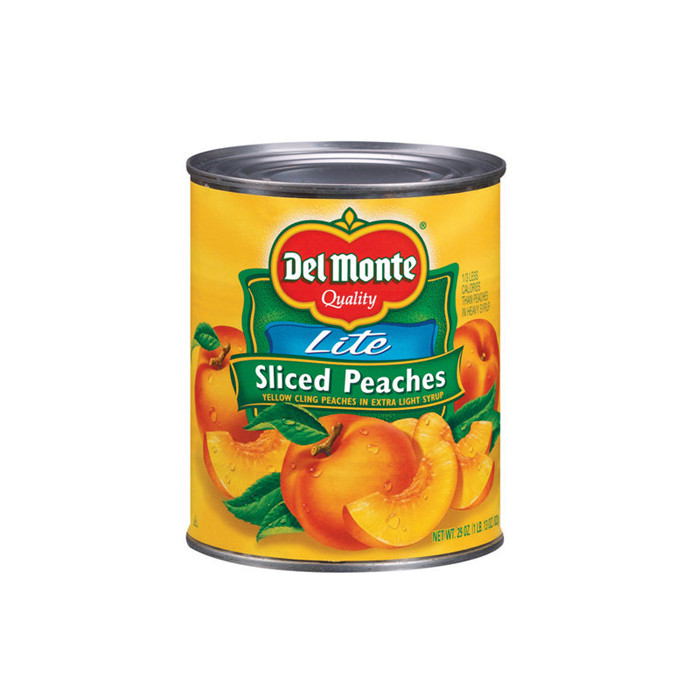 820g canned peaches hot sale